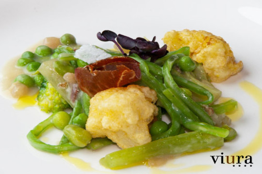 Menú especial en Restaurante Viura