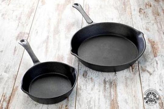 Productos colectivia 2 sartenes gourmet tools chef de - Sartenes hierro fundido ...