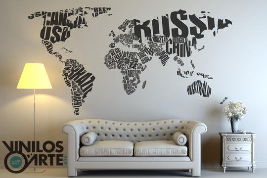 Vinilos con arte nuevas im genes decora tu hogar con - Vinilos con arte ...