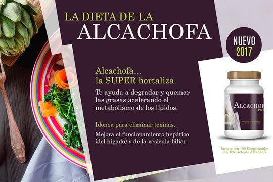 Dieta de la alcachofa con Alcachofa Premium