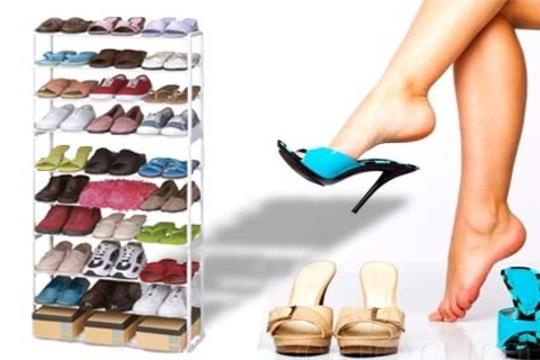 Productos colectivia armario organizador de calzado con - Organizador de zapatos para armario ...