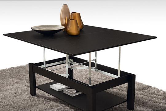 Muebles Colectivia - Mesa de centro elevable convertible en mesa de ...