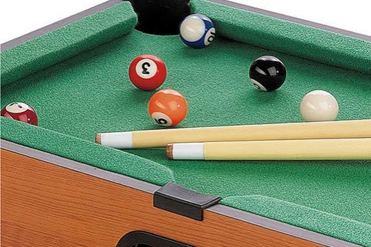Productos colectivia mini mesa de billar incluye bolas for Mesa de billar para ninos