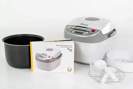 Productos colectivia nuevo robot de cocina chef gourmet 4000 con accesorios y recetario - Robot de cocina gourmet ...
