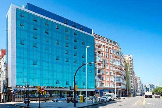 Hotel pr ncipe de asturias noche desayuno en hotel 4 for Hotel principe de asturias gijon