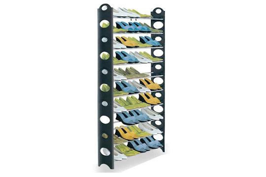 Productos colectivia zapatero modular desmontable para for Zapatero para 30 pares de zapatos