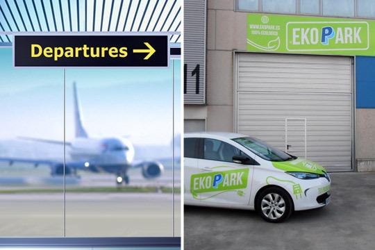 Servicio recogida coche aeropuerto bilbao