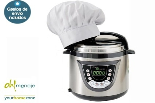 Oh menaje robot de cocina programable chef oh menaje for Menaje para cocina