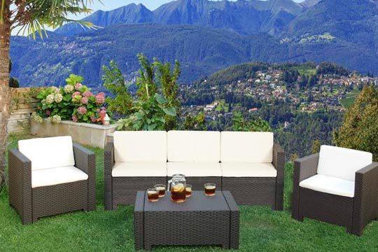 Conjunto de muebles para jardín