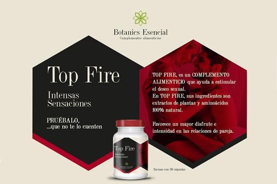 Top fire complemento alimenticio
