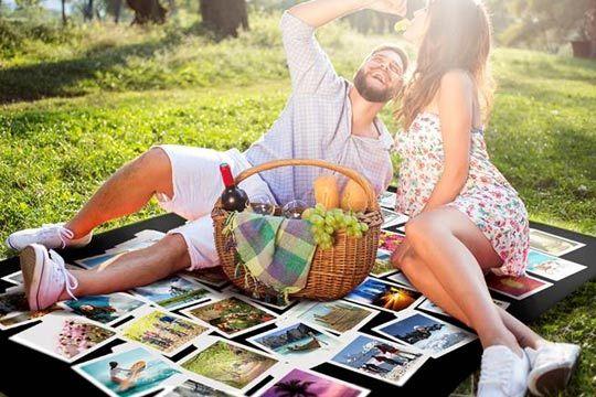 Regalicos manta de picnic personalizada con tus mejores - Mantas personalizadas con fotos ...