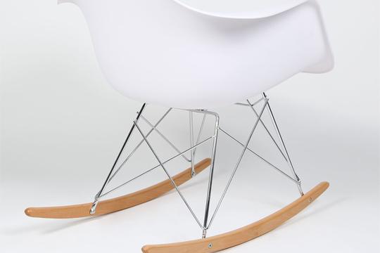 Productos colectivia silla mecedora blanca y madera la ltima tendencia en decoraci n - Mecedora madera blanca ...