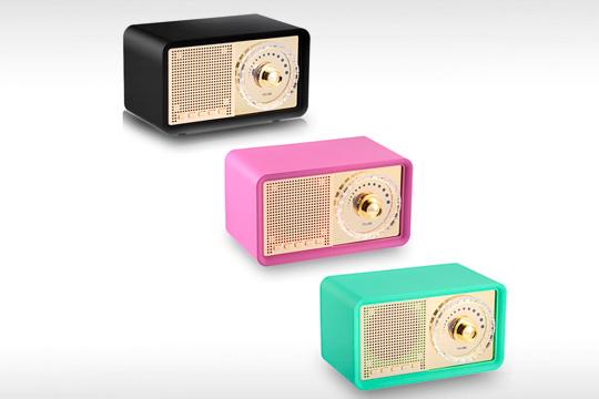 Altavoz Bluetooth radio retro