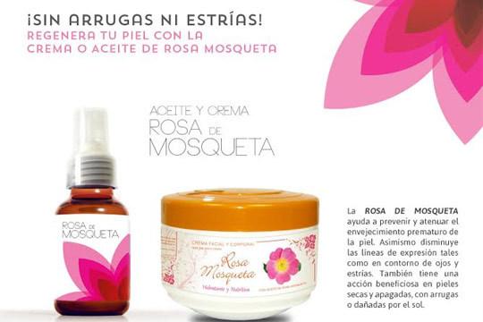 aceite Rosa mosqueta + crema Rosa Mosqueta
