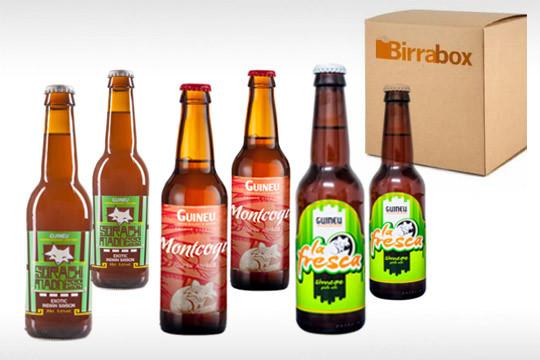 Caja Birrabox con 6 cervezas