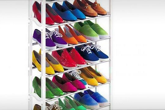 Productos colectivia organizador de zapatos con - Organizador de zapatos para armario ...