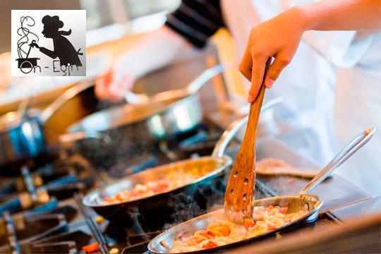 Academia de cocina on egin 4 clases de cocina - Cursos cocina pamplona ...