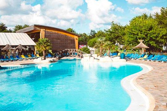 Landas en semana santa en camping 5 para 4 o 6 personas for Camping en las landas con piscina cubierta