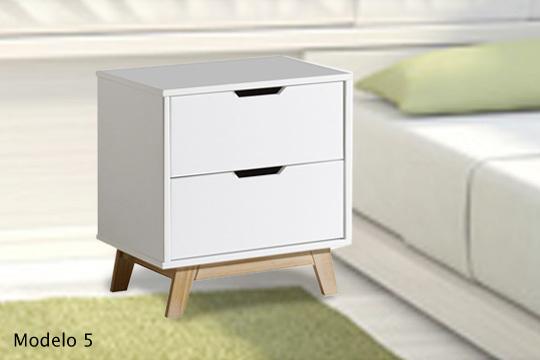 Muebles colectivia mesitas de noche estilo r stico o Mesitas de noche nordicas