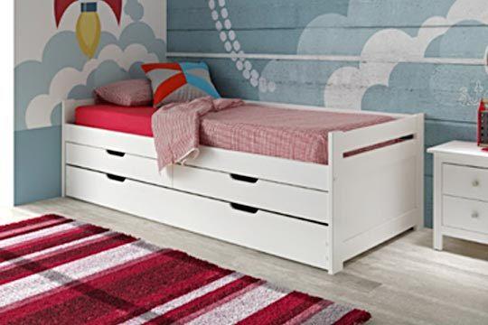 Muebles colectivia cama nido con o sin cajones y opci n for Cama nido oferta madrid