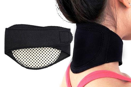 Masajeador térmico para el cuello