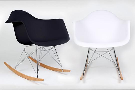 Productos colectivia silla mecedora blanca o negra la - Silla eames amazon ...