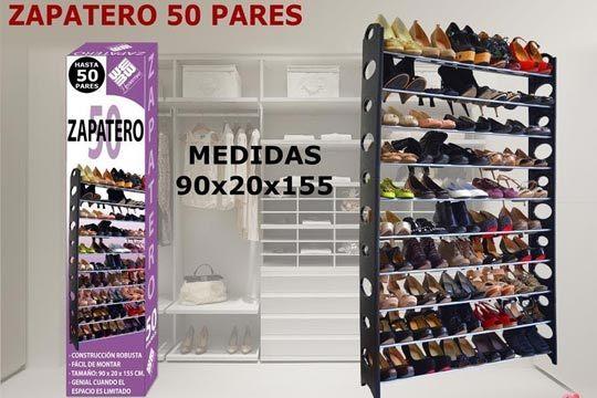 Zapatero 50 pares