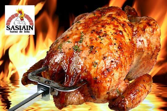 Sasiain horno tradicional aut ntico pollo a la brasa - Salsa para pollos asados ...