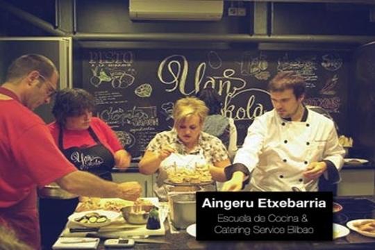Aingeru etxebarria escuela de cocina catering service bilbao curso de cocina vasca en la - Cursos de cocina bilbao ...