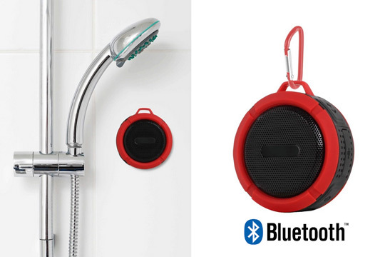 Productos colectivia altavoz impermeable con bluetooth for Ducha ya pamplona