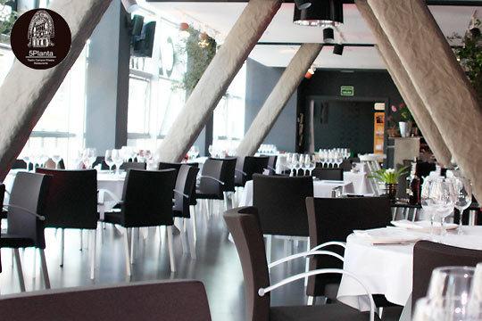 Restaurante 5 planta men degustaci n en el exclusivo - Restaurante teatro campos ...