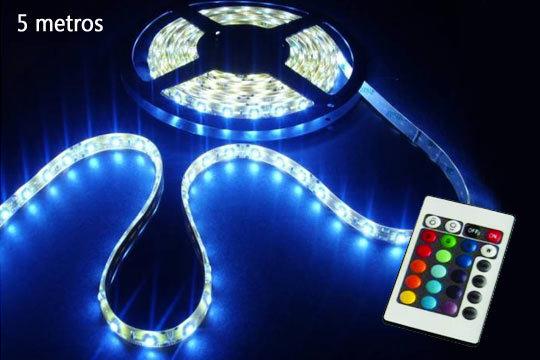 Productos Colectivia Bobina de luces LED multicolor Con mando a