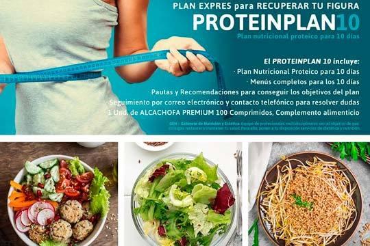 ProteinPlan 10,Plan nutricional proteico para 10 dias