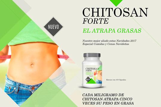 Atrapagrasas Chitosan Forte
