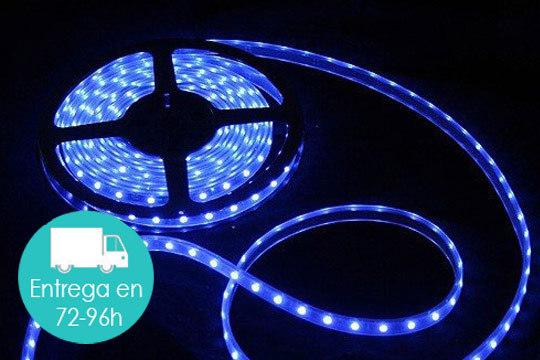 Productos colectivia rollo de luz led multicolor de 5 - Luz con mando a distancia ...