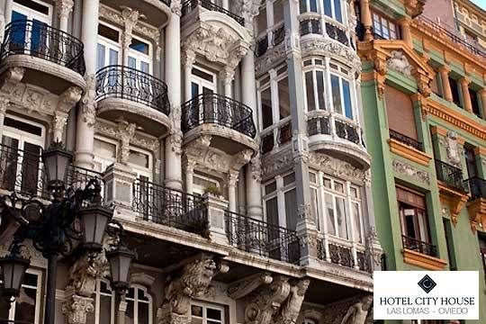 Escapada a Oviedo en el hotel Las Lomas