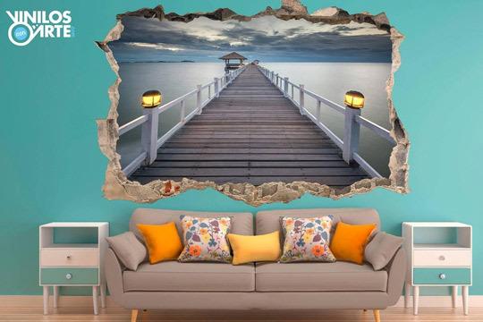 Vinilos con arte vinilos de pared con efecto 3d nuevos - Vinilos con arte ...