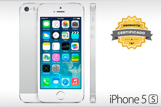 iPhone 5S Silver