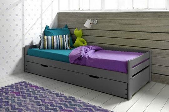 Muebles colectivia cama nido con o sin cajones y opci n for Sillon cama amazon