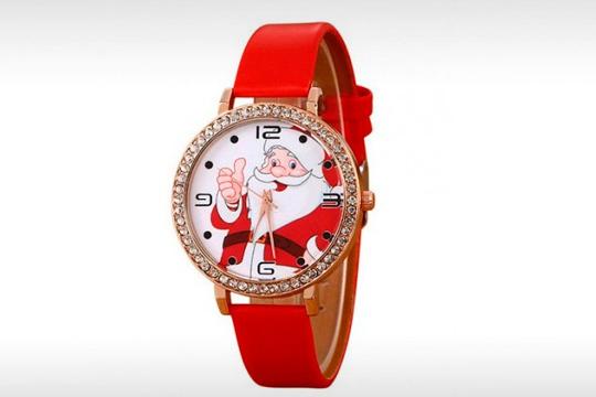 Reloj Santa Claus