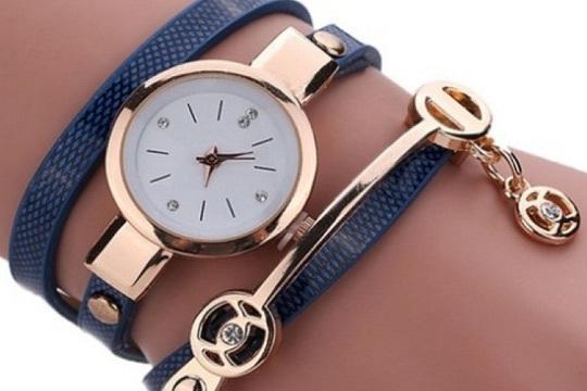 Reloj anna snake Azul