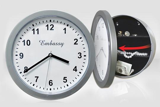 Reloj de Pared Caja Fuerte