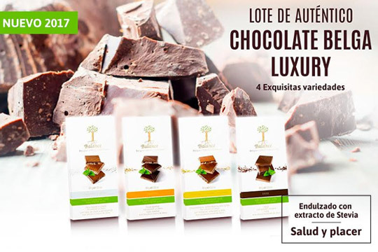 Lote de auténtico chocolate belga luxury