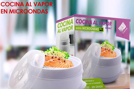 Productos colectivia recipiente para cocinar al vapor en - Como cocinar al vapor en microondas ...