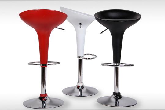 Productos colectivia taburete giratorio pop en 3 colores - Decoracion retro americana ...