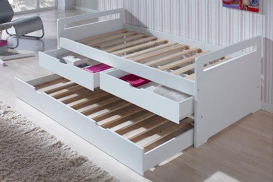 Muebles colectivia cama nido con o sin cajones y opci n for Camas con almacenaje