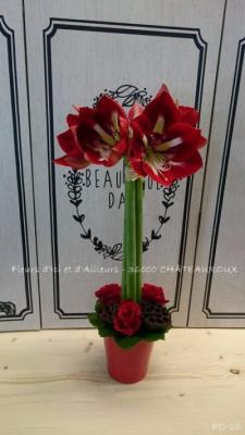 Commande bouquet Diors artisan fleuriste Fleurs d'Ici et d'Ailleurs...