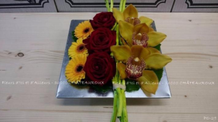 Livraison de bouquets Diors fleuriste Fleurs d'Ici et d'Ailleurs...