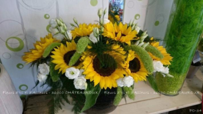 Envoie de bouquet Diors fleuriste Fleurs d'Ici et d'Ailleurs...