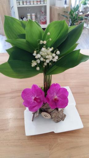 Envoi bouquet fleurs Chagnon  Art & Nature